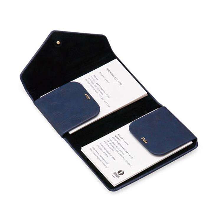ビジネスシーンに似合うスマートなマグネット式カードケース