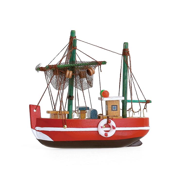 すべてハンドメイドで1つずつ作ったヨットの模型