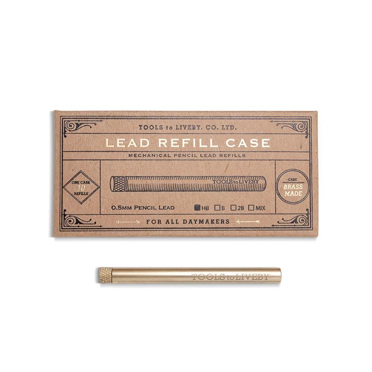真鍮製シャープペンシルの芯入れ