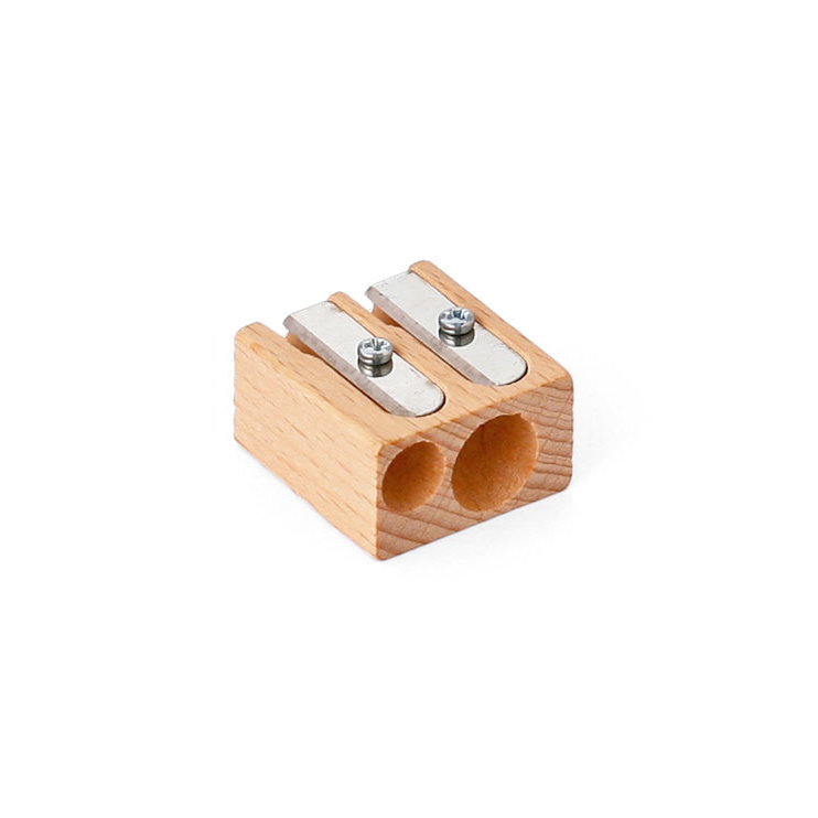 ブナ材の温もり溢れる鉛筆削り