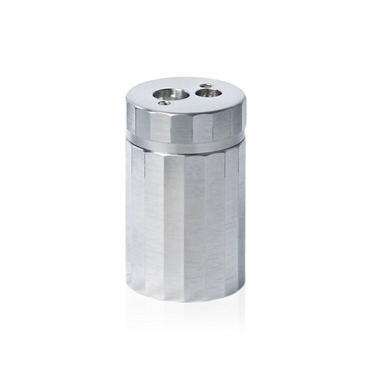 ドイツDUXの円柱型のアルミニウム製鉛筆削り