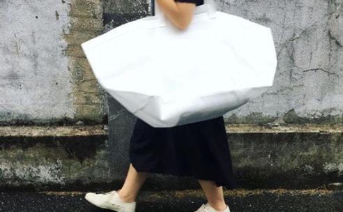 不織布を使用したバッグブランド「unnun」