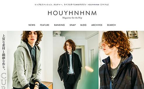 WEBマガジン「HOUYHNHNM(フイナム)」