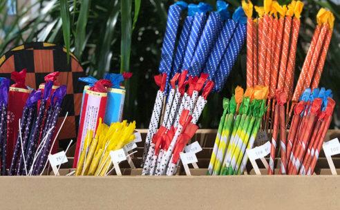 筒井時正玩具花火製造所の花火