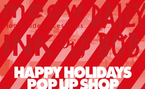 HAPPY HOLIDAYS POP UP SHOP at HIGHTIDE STORE