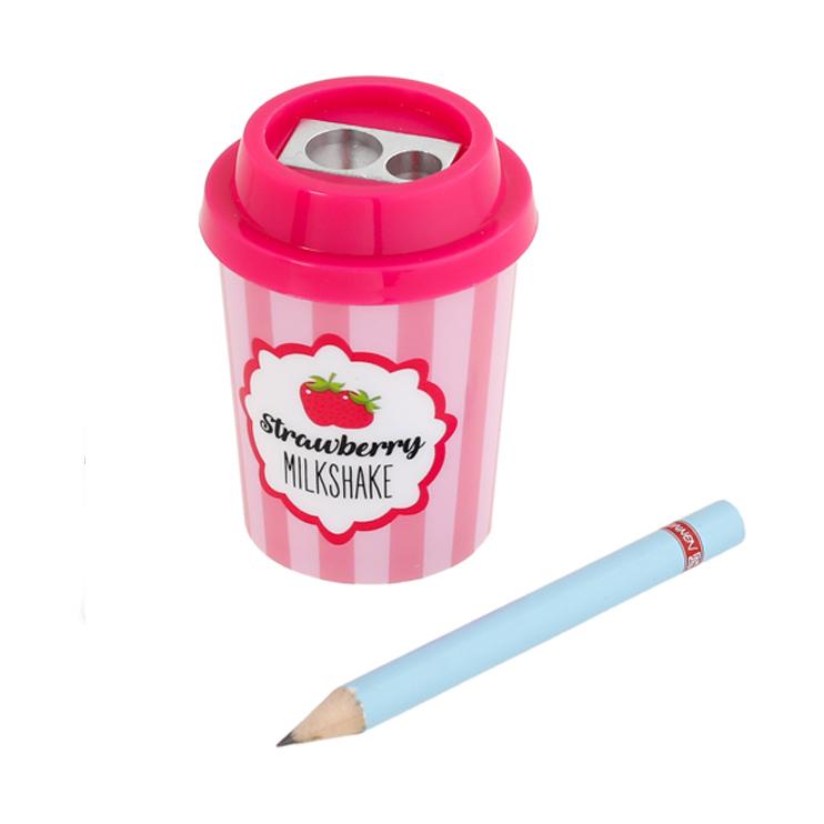 ミルクセーキ型のかわいい鉛筆削り