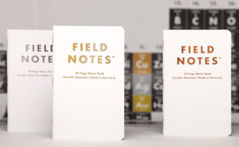 FIELD NOTES限定エディション「GROUP ELEVEN」新発売