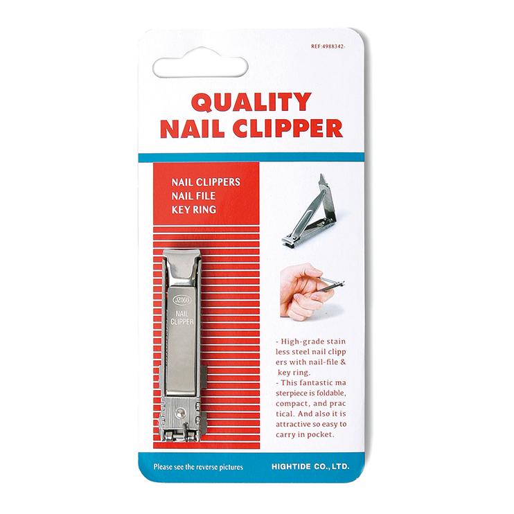 薄型で携帯しやすいトラベルにも最適な爪切り