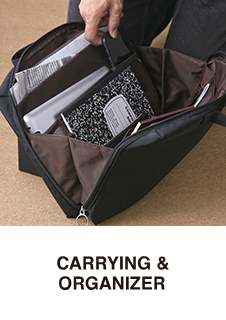 CARRYING & ORGANIZER