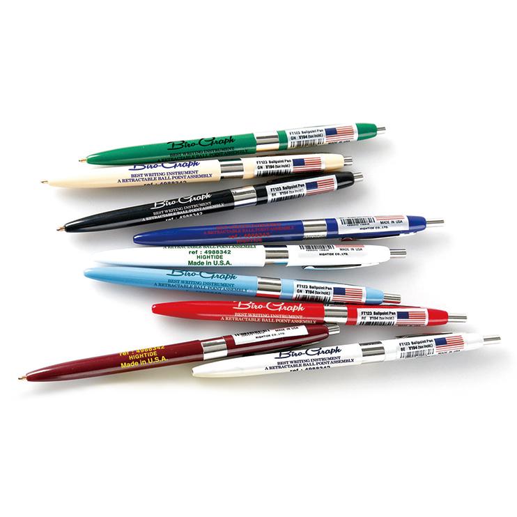レトロなデザインが楽しめるボールペン