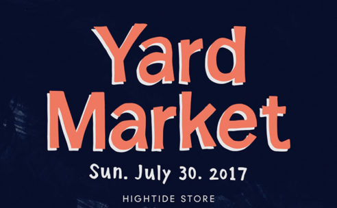 7月30日(日)Yard Market開催!
