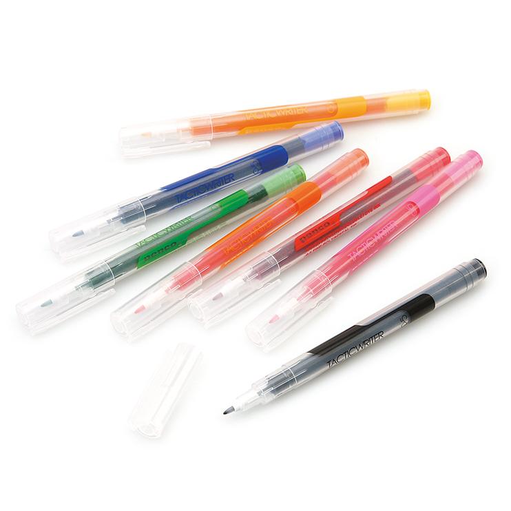 すらすら書けるカラフル水性ペン