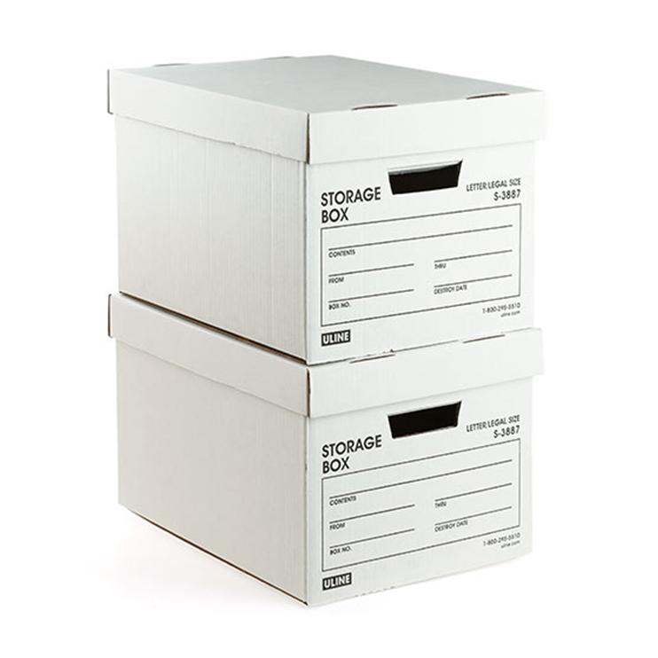 シンプルなボックス収納でお部屋をすっきり整理