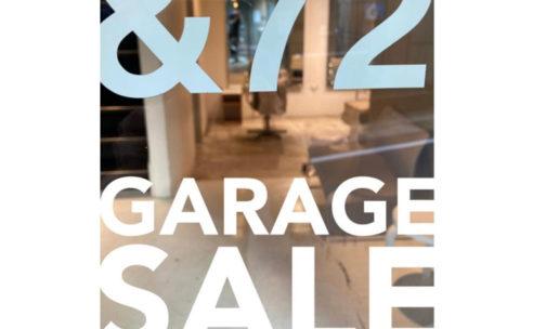 GARAGE SALE at &72