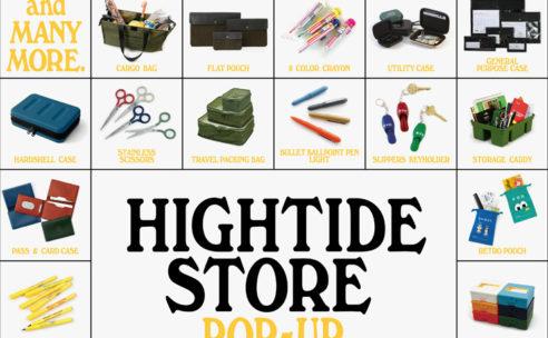 HIGHTIDE STORE POP UP SHOP in HAKATA