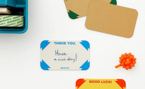 penco メッセージカード新発売