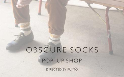 OBSCURE SOCKS POP-UP SHOP at ALSO MOONST…